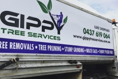 Gippy Tree Services truck